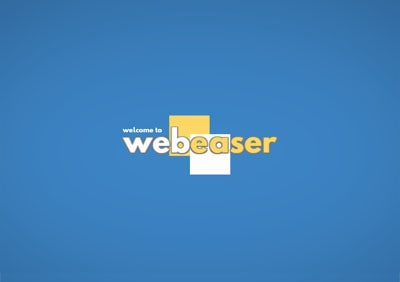 webeaser example: intro